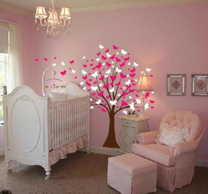 cherry blossom tree wall decal in Decals, Stickers & Vinyl Art