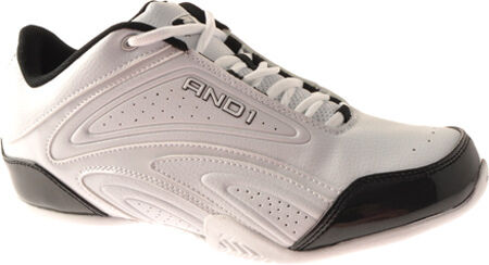 a5c960929b9c AND1 Mens Satellite Low Leather Basketball Shoes   White   Black ...