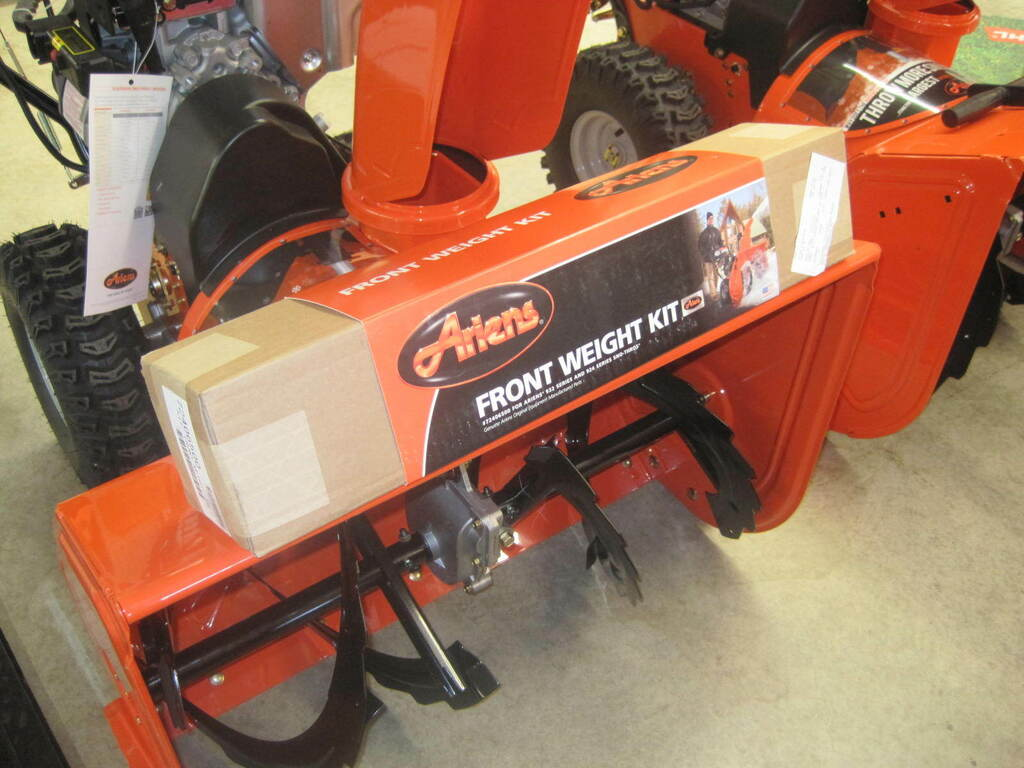 Ariens Snow Blower Weight Kit Mounts to Front of Sno Thro 10