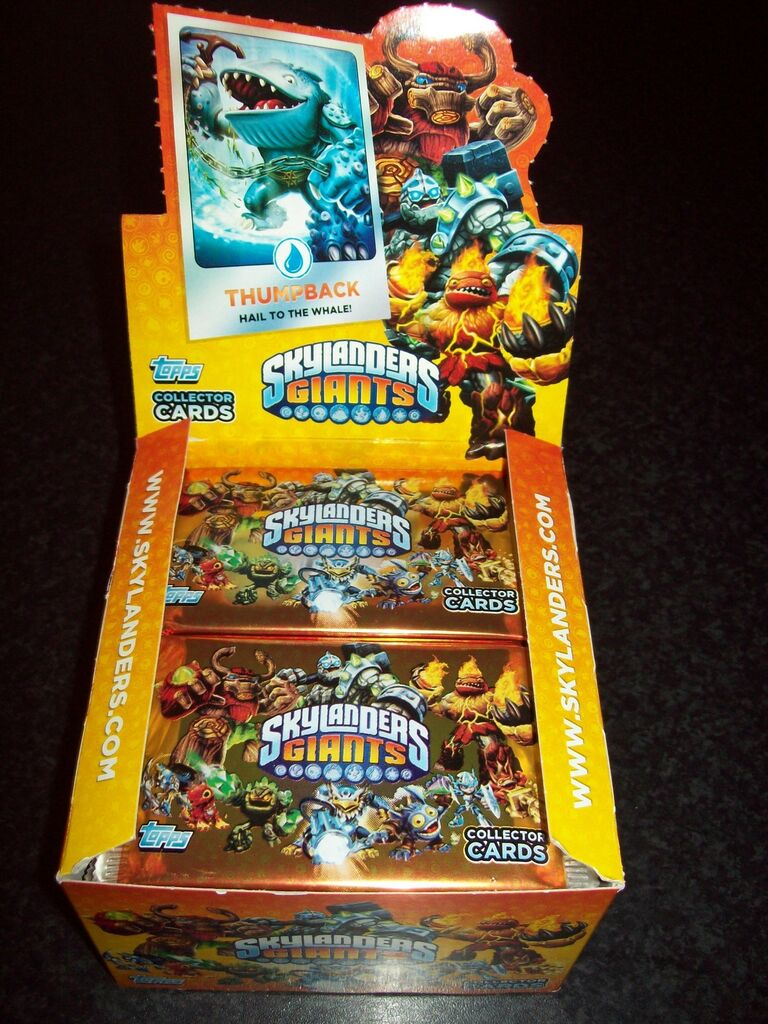 Topps Skylanders Giants Trading Cards Packets Choose Quantity From