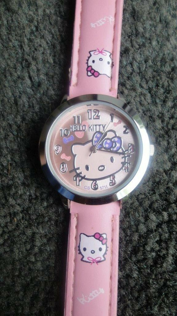 HELLO KITTY GIRLS WATCH BIRTHDAY GIFT CHILDRENS KIDS gift birthday