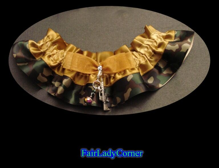 wedding bridal garter prom party gothic gift favor select your charm