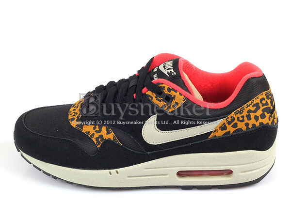 Nike Wmns Air Max 1 Leopard BlackSandtrap Dark Gold Leaf