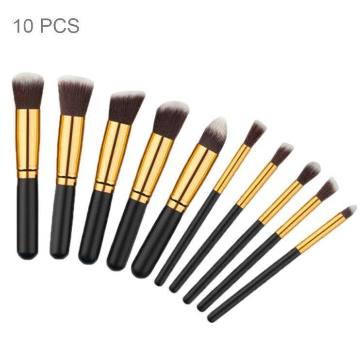Pennelli professionali trucco set 10 pz make up makeup brushes donna cos 01 
