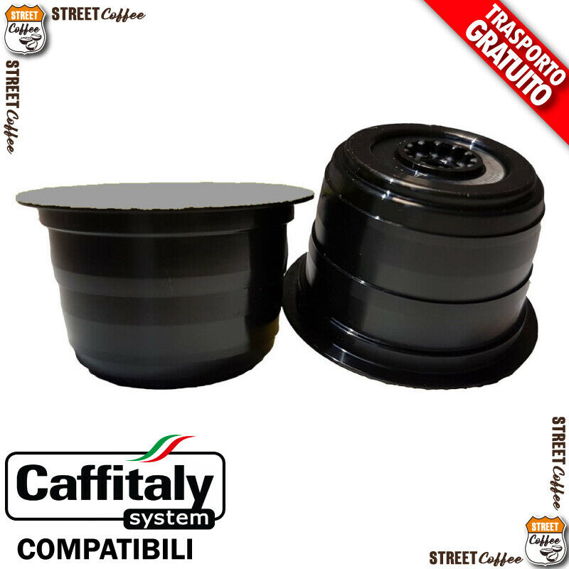 200 cialde capsule caffe street coffee strong compatibile caffitaly caff italy Prezzo: € 35,00