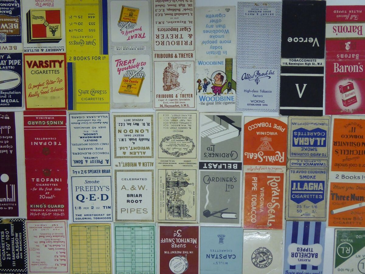 65 circa1930s 1940s 1950s matchbooks earlier all photographed take your pick 2 Prezzo: € 8,89