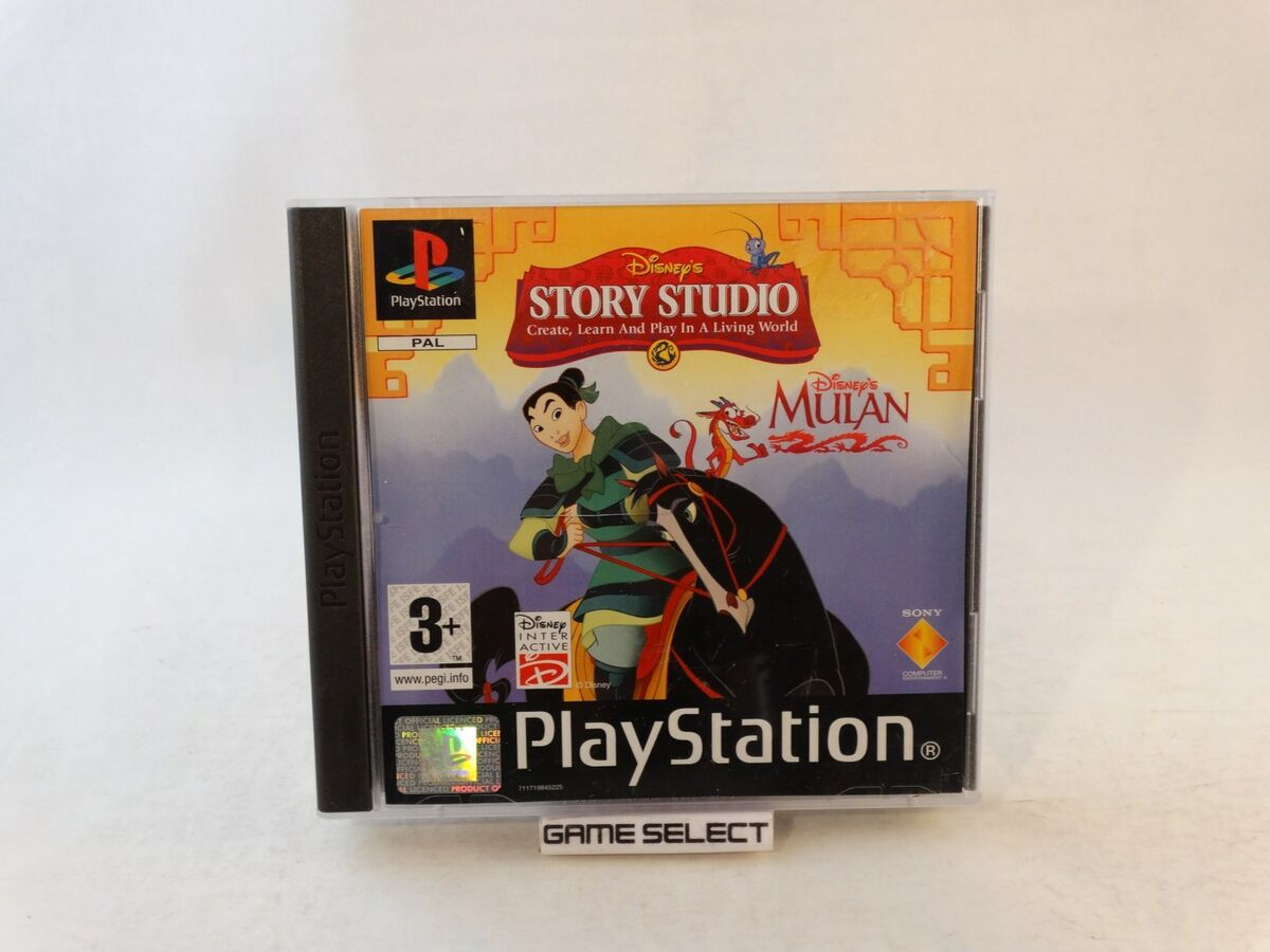 Disney s libro animato creativo mulan playstation 1 2 3 ps1 ps2 ps3 pal completo 