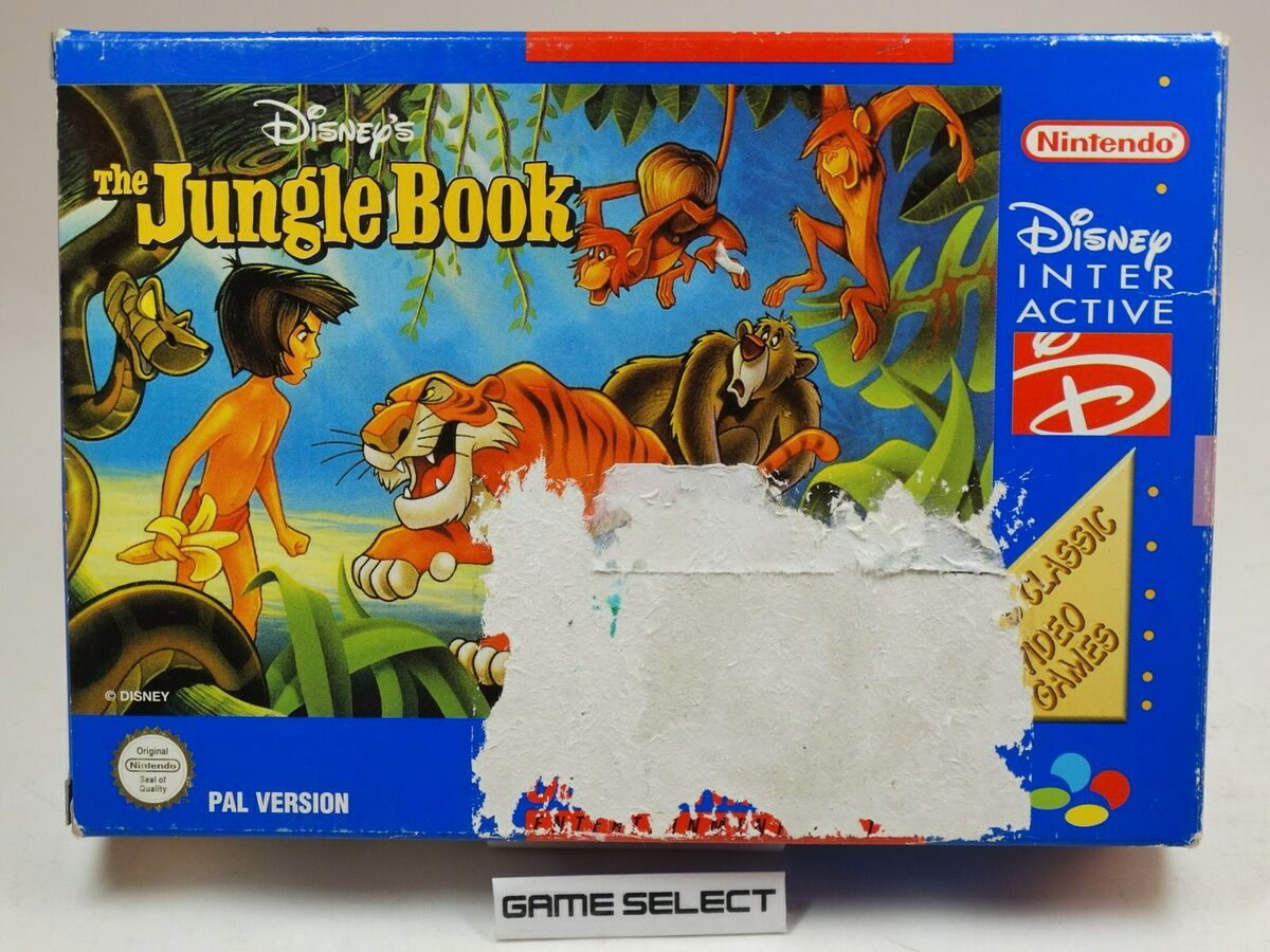 Disney s the jungle book il libro della giungla nintendo snes super nes pal 