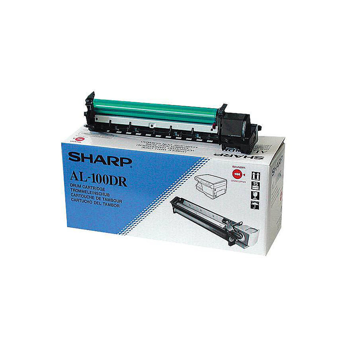 Originale drum sharp al 100dr per sharp al 1551 al 1551ccs al 1551cs al 1552 