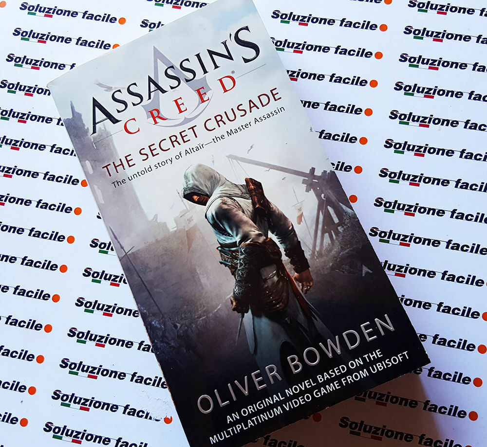 Libro assassin s creed the secret crusade oliver bowden romanzo ufficiale 24h 