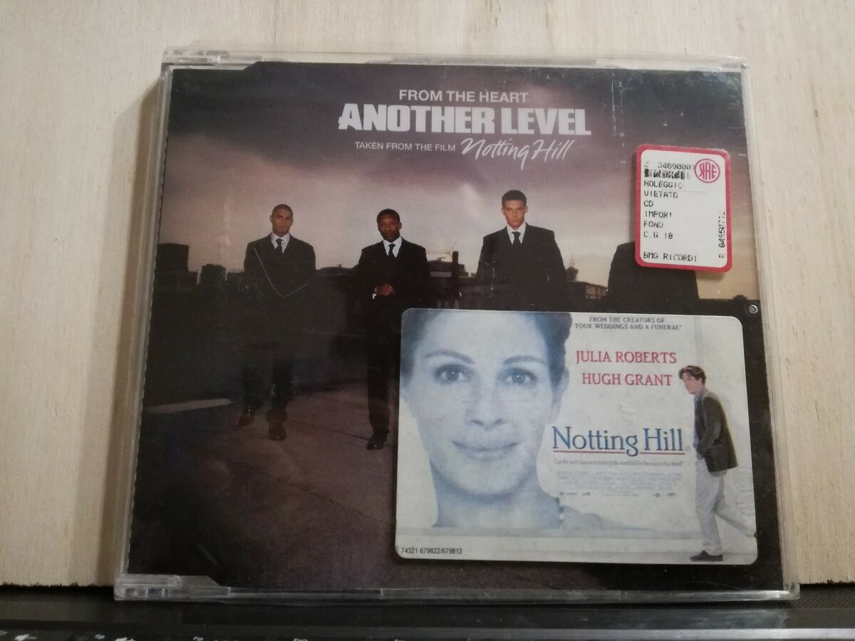 Another level from the heart o s t notting hill brano in 4 versioni cds si 