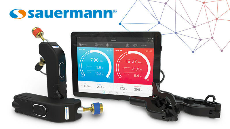 Sauermann manifold digitale wireless si rm3 