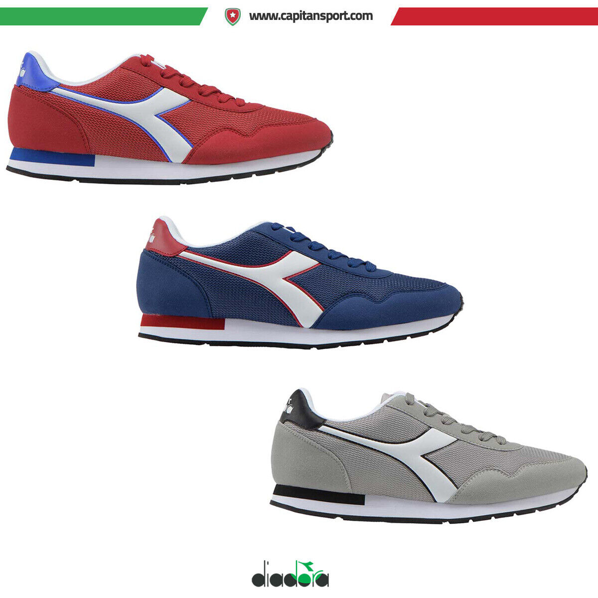 Diadora breeze scarpa casual unisex art 171437 
