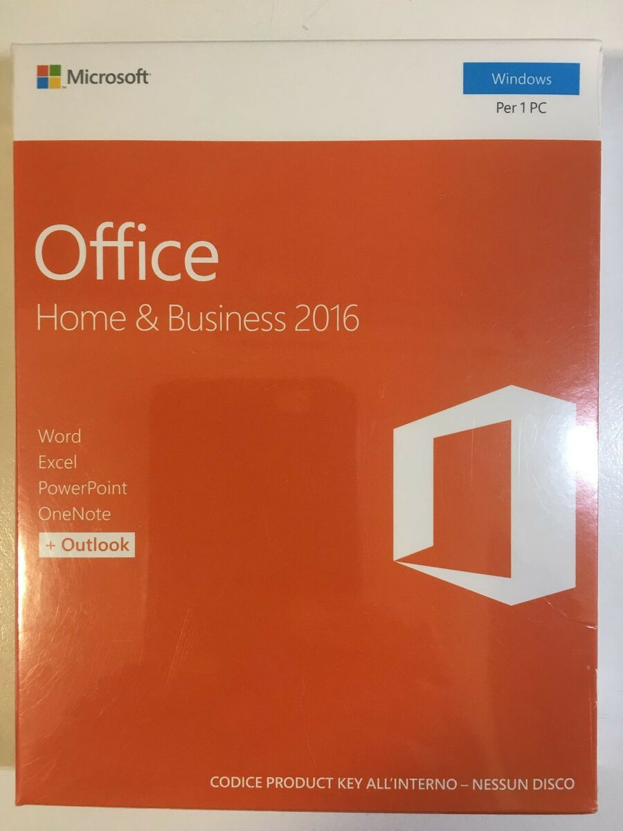 Office home business 2016 32 64 bit eurozone medialess retail box t5d 02801 