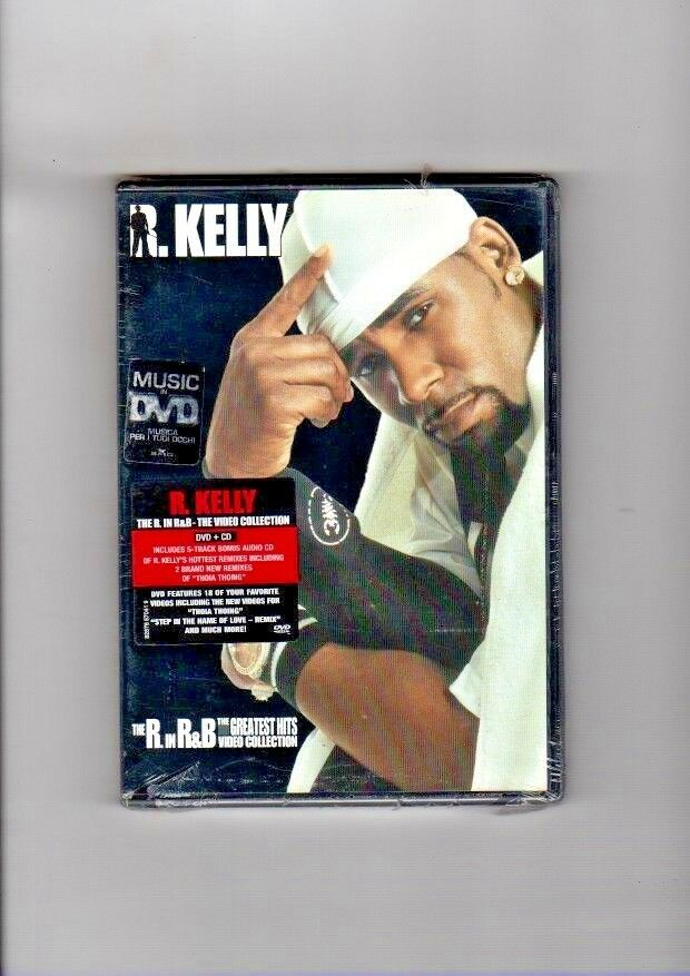 R kelly the greatest hits video collection dvd Prezzo: € 9,99