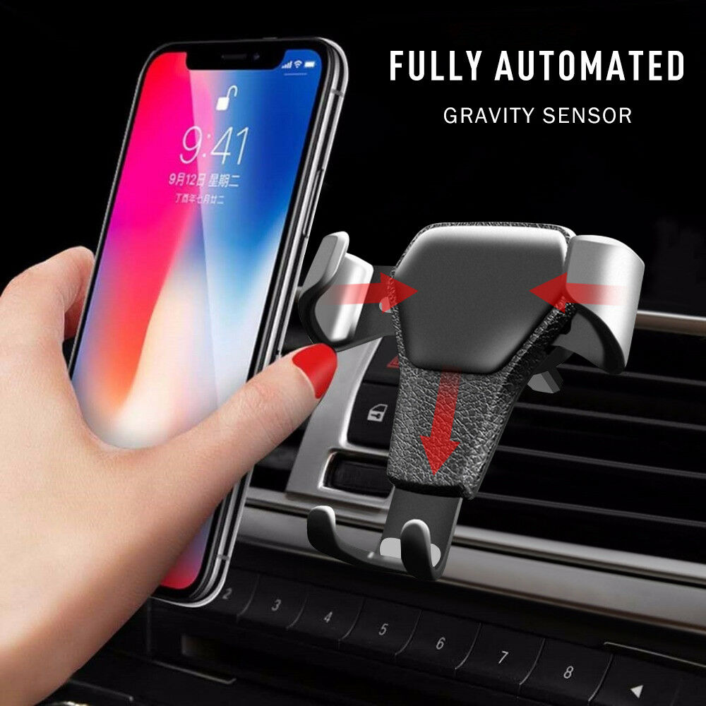 Gravit auto air vent cradle supporto parabrezza per iphone mobile cell gps 