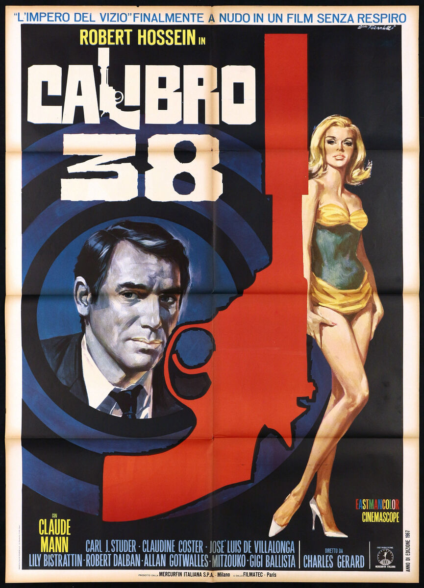 Calibro 38 manifesto cinema film l homme qui trahit la mafia movie poster 2f 