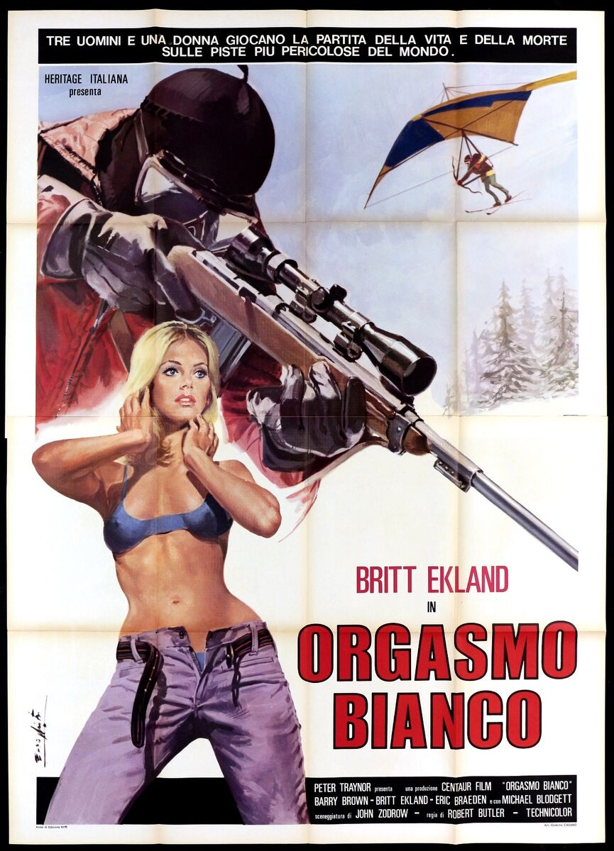 Orgasmo bianco manifesto cinema sexy 1974 the ultimate thrill movie poster 4f 