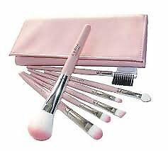Set di 7 pezzi make up pennelli con custodia professionale 