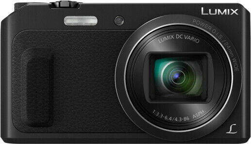 Fotocamera digitale compatta panasonic 16 mpx video full hd dmctz57egk 