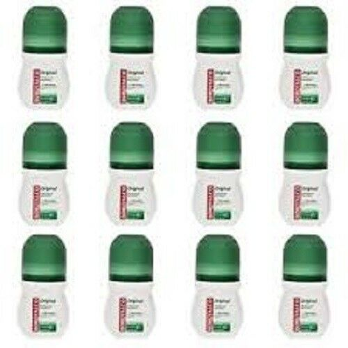 12 x borotalco deodorante corpo roll on original offerta lotto stock profumo 