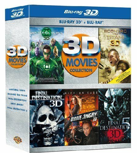Movies collection 3d 5 blu ray 3d blu ray 5 film 