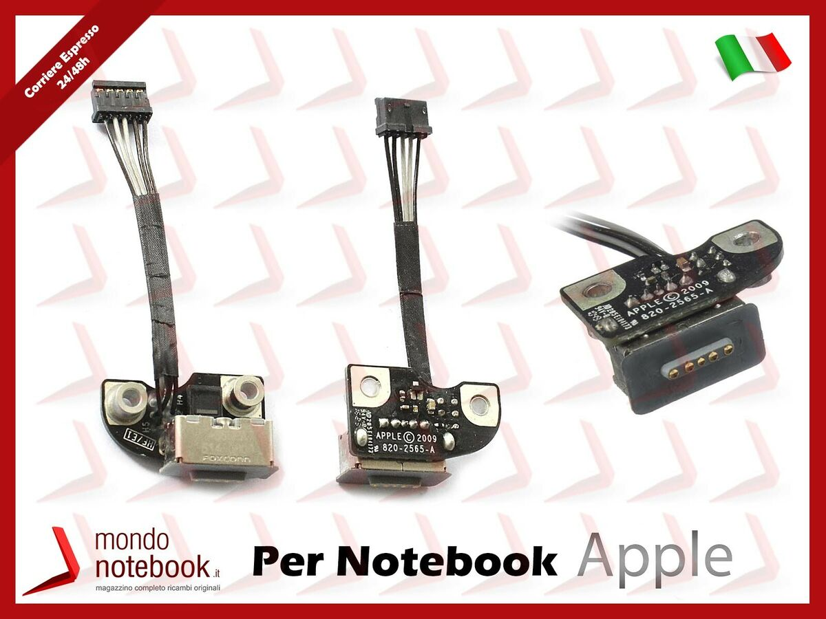 Connettore alimentazione apple macbook pro magsafe a1278 a1286 a1297 2009 2011 