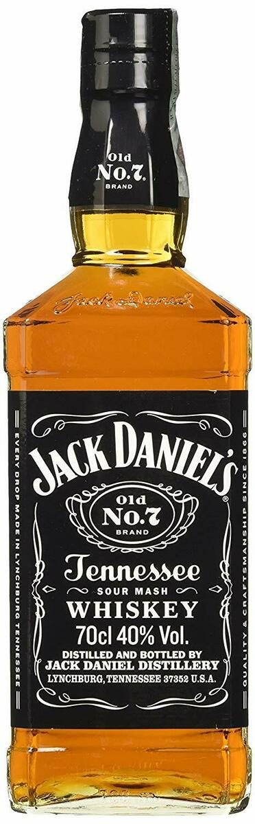 Jack daniel s tennessee whisky old n 7 brand 70cl 