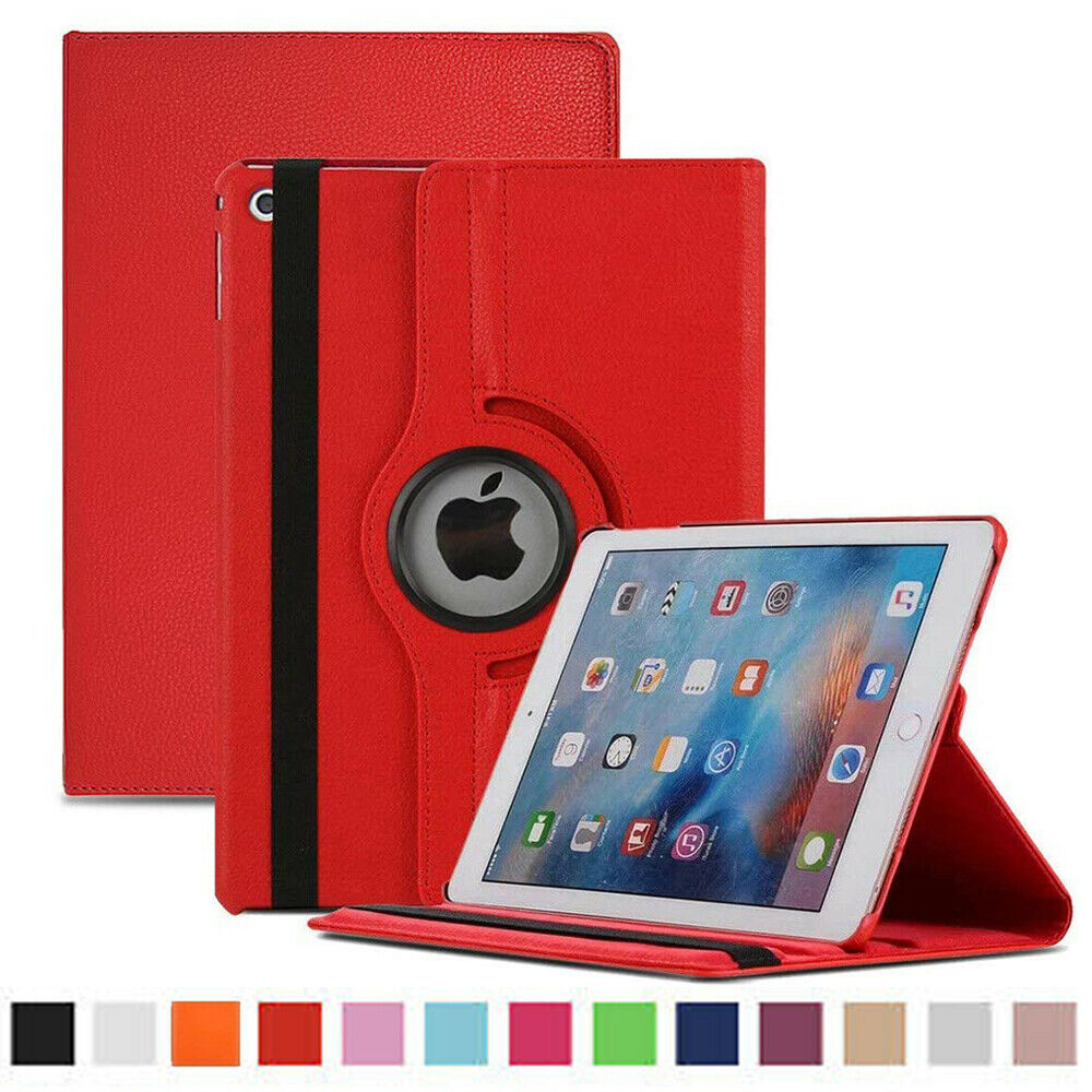 New ipad 360 shockproof pu leather stand case cover fit for apple ipad all model 