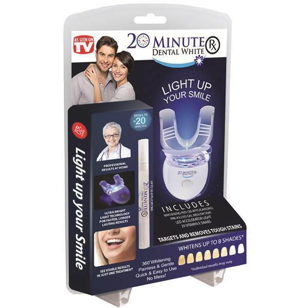 Sbianca denti sbiancante denti white smile whitelight con gel 