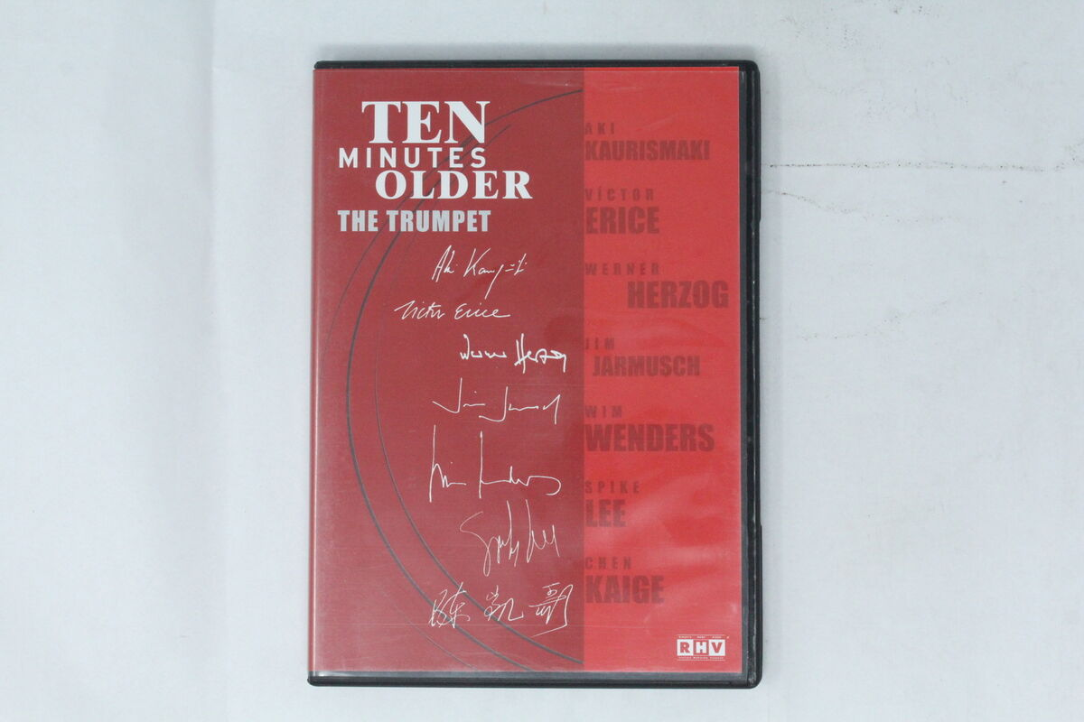Dvd ten minutes older the trumpet rhv 2002 aki kaurismaki si 028 