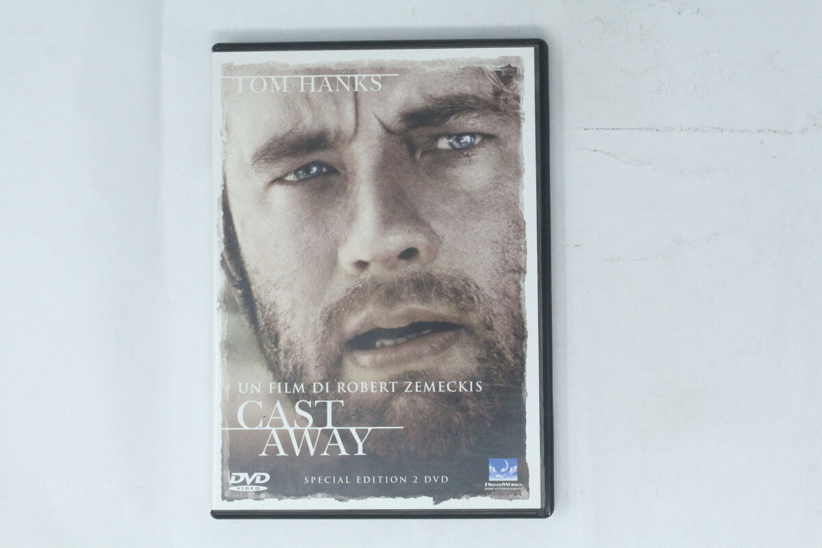 Cast away 2 dischi dream works 2001 tom hanks si 004 
