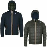 K-WAY GIACCA BAMBINO DOUBLE imbottita JACQUES THERMO PLUS aut/inv NEW KWAY 949fu