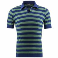 K-WAY POLO UOMO JOHN COTTON STRIPES rigata man.corta 3BOTTONI PRV/EST KWAY G25kr