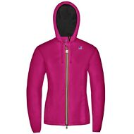 K-WAY LILY NYLON JERSEY GIACCA BAMBINA CAPPUCCIO Impermeabile Prv/Est KWAY Z11ly