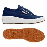 SUPERGA 2905 zeppa scarpe DONNA Sottop:4cm Blu sottop: COTW up and down NEW X1Yk