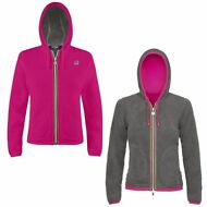 K-WAY FELPE BAMBINA GIACCA Aut/inv Reverse PILE LILY POLAR New KWAY 916fitigvo