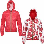 K-WAY LILY PLUS DOUBLE GRAPHIC giacca DONNA Cappuccio prv/est NEW KWAY 918oqwzxb