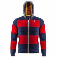 K-WAY Giacca UOMO JACQUES RUGBY int. IMPERMEABILE ANTIVENTO cappuccio KWAY 902lu