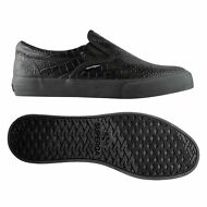SUPERGA Donna slip on 2311 FGLWEMBCOCCO mocassini Nero Total Chic NEW F90jwmandk