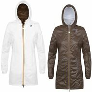 K-WAY VIRGINIE PLUS DOUBLE GIACCA donna lunga 3/4 KWAY IMPERMEABILE PRV/EST G41y