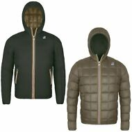 K-WAY GIACCA UOMO DOUBLE Imbottita JACQUES THERMO PLUS aut/inv NEW KWAY 941heiel
