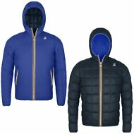 K-WAY JACQUES THERMO PLUS DOUBLE GIACCA BAMBINO imbottita AUT/INV New KWAY 926nz