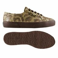 SUPERGA SCARPE DONNA PAILLETTES CAMOUFLAGE micropile Interno aut/inv new 902dwug