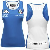 KAPPA AUDI TEAM T-SHIRT KOMBAT WORDEN FISI ITALIA TRAINING DONNA New 901uxvbzzt