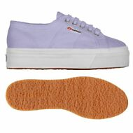 SUPERGA 2790 ZEPPA Scarpe DONNA 4CM ACOTW UP AND DOWN LILLA VIOLETTO Nuovo 520kl
