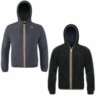 K-WAY FELPE UOMO giacca Aut/inv REVERSE pile JACQUES POLAR New KWAY Nuovo 913llo