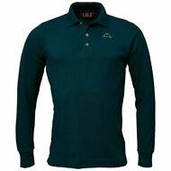 ROBE DI KAPPA NED SLEEVES POLO UOMO mc.lunga NED-L Prv/Est VERDE New Nuovo WQ9at