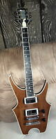 Quality Heavy Metal Prototype Electric Guitar w/ Gibson pickup & Ebony Board
