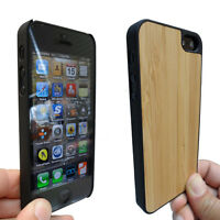 Real Bamboo Hard Shell Case for iPhone 5, 5S